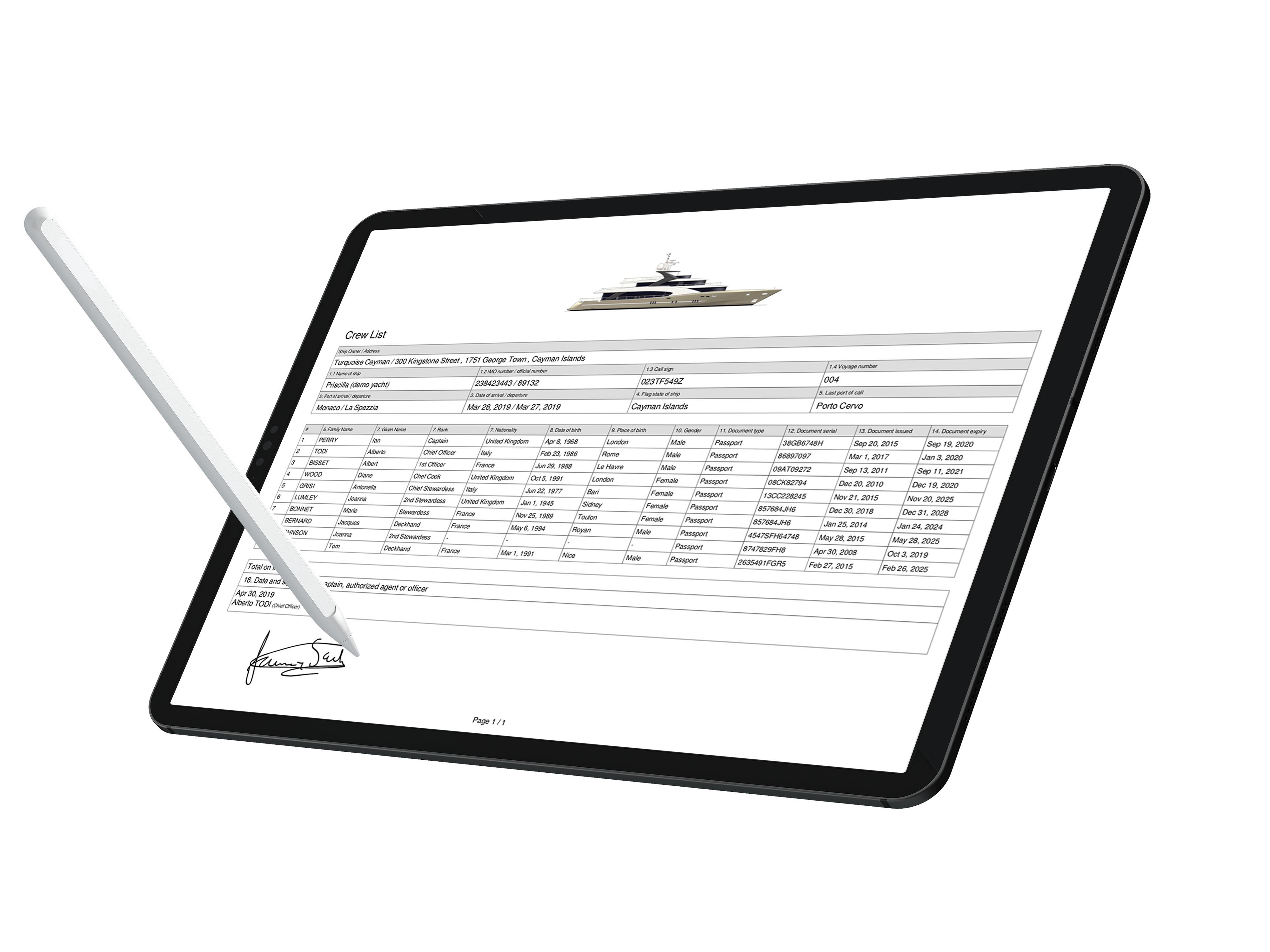 DEEP Blue Soft - A Revolutionary Yacht Management Software